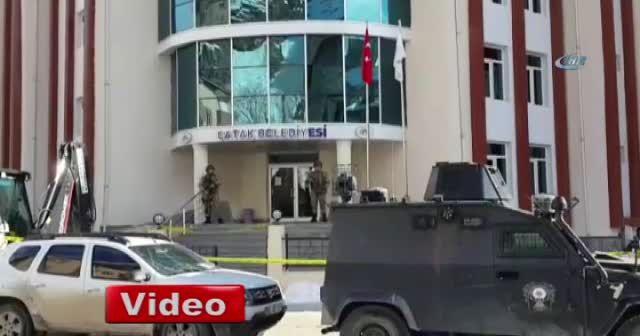 Çatak Belediye Başkanı gözaltına alındı