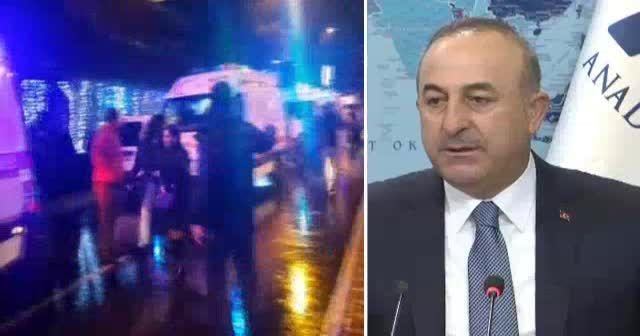 Çavuşoğlu: Teröristin kimliği tespit edildi