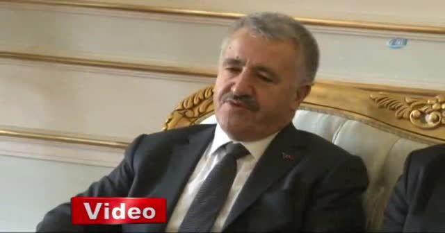 Bakan Arslan: Dünyanın en büyük köprüsü olacak