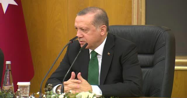 Erdoğan: Bazı söylemleri rahatsız edici