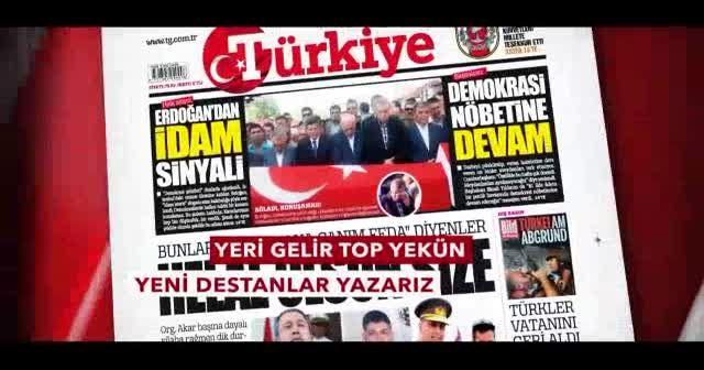 Güçlü Türkiye için biz de varız