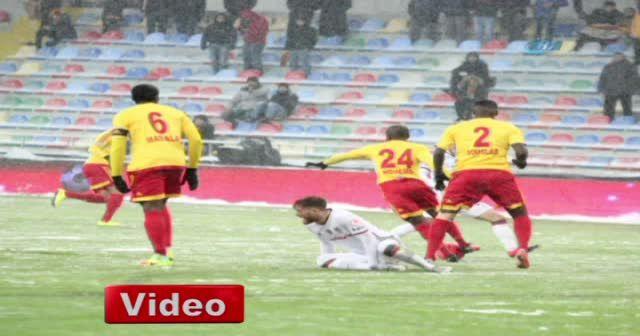 Kayserispor Beşiktaş maçı foto özet