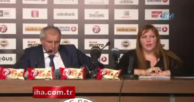 Zeljko Obradovic: 'Galatasaray çok iyi oynadı'