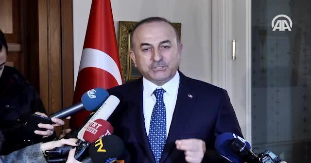 Çavuşoğlu: Türkiye'nin patronu değilsiniz