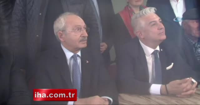 Kemal Kılıçdaroğlu'na kahvede 'Cem Özdemir' tepkisi