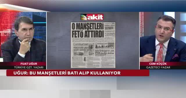 ''Cumhuriyet gazetesi FETÖ'nün ve PKK'nın gazetesidir''