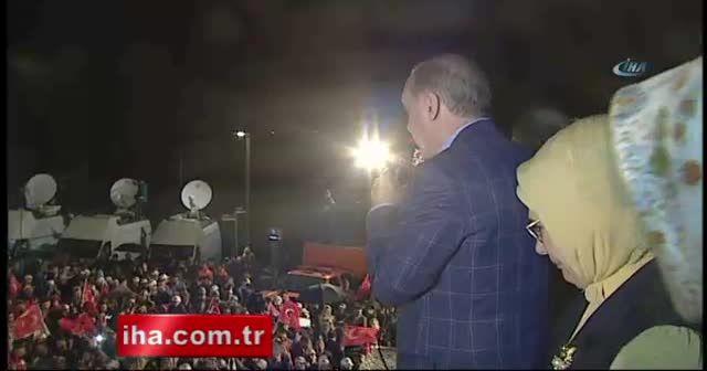 Cumhurbaşkanı Erdoğan: Bir halk oylaması da idam için yaparız
