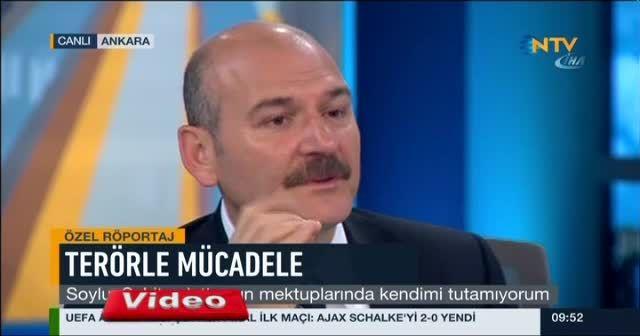 İçişleri Bakanı Süleyman Soylu'nun gözyaşları