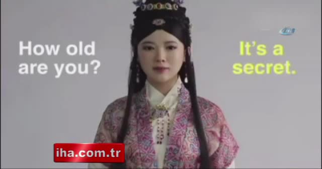 Robot 'Jia Jia' İngilizce röportaj yaptı