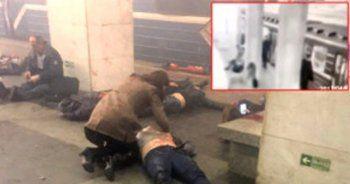 Rusya'daki patlama anı güvenlik kamerasında