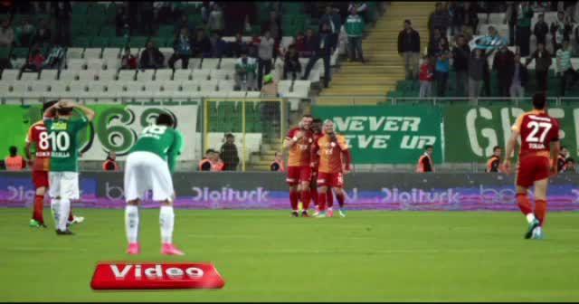 Bursaspor Galatasaray maçı foto özet