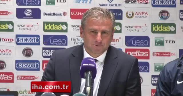 """Hamzaoğlu: """"Penaltıyı Regattin aldı"""""""