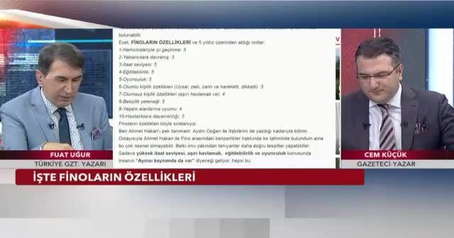 'Ahmet Hakan tam bir çakma Cem Küçük'