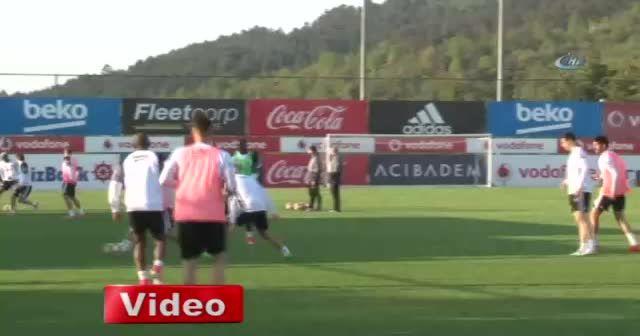 Beşiktaş, Fenerbahçe derbisi hazırlıklarını sürdürdü