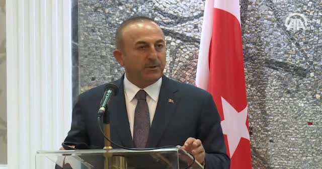 Çavuşoğlu: YPG ve PKK'nın eline geçen her silah, Türkiye'ye yönelik bir tehdit