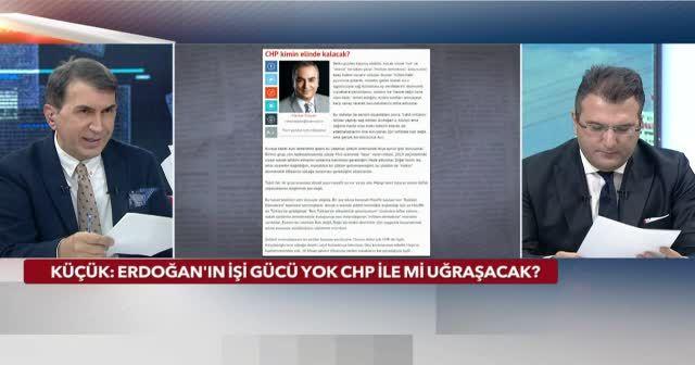 Cumhurbaşkanı Erdoğan'ın işi gücü yok CHP ile mi uğraşacak?