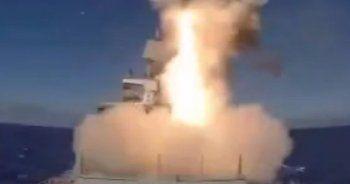 Rusya, Palmira'daki DEAŞ hedeflerini füzelerle vurdu
