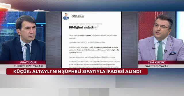 Fatih Altaylı'nın ByLock'çu vali iddiası savcılıkta
