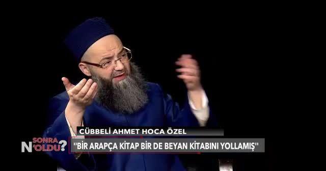 Cübbeli Ahmet Hoca'dan Adil Öksüz açıklaması