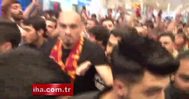 Galatasaray'ın yeni transferi Maicon, İstanbul'da