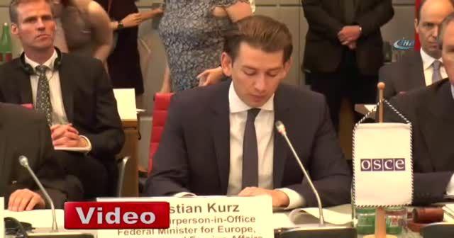 Viyana'da 'AGİT 2017 Yıllık Güvenlik Değerlendirme Konferansı'