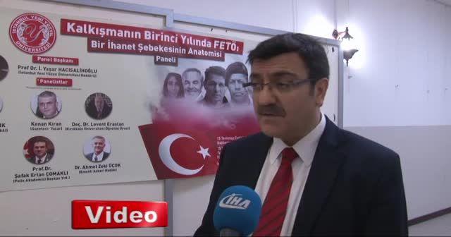 """Prof. Dr. Hacısalihoğlu: """"Cumhurbaşkanını hiç kimsenin yalnız bırakmaya hakkı yoktur"""""""