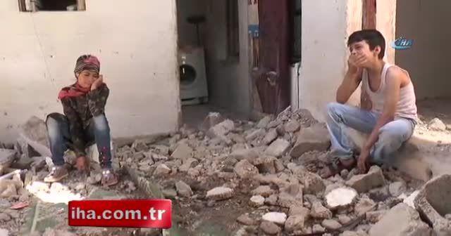 Gaziantep'te ticari taksi eve girdi: 6 yaralı