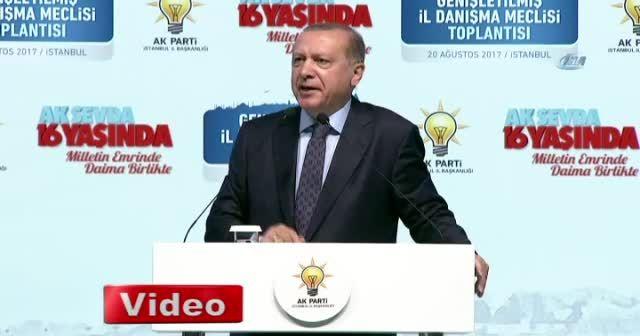 Cumhurbaşkanı Erdoğan, 'Eğer racon kesilecekse bizzat kendim keserim'