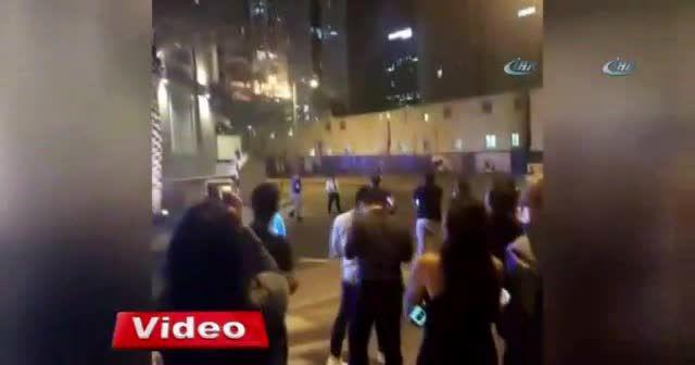 Dubai'de 86 katlı Torch kulesinde yangın çıktı