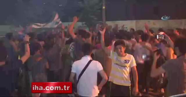 Konya'da kupa coşkuyla kutlandı