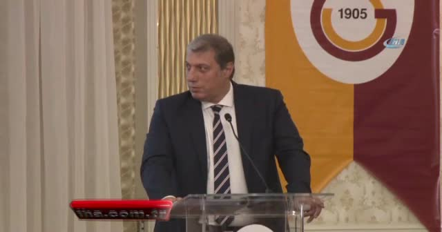 Levent Nazifoğlu'nun konuşması sırasında Divan Kurulu karıştı