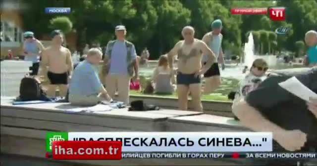 Rus muhabire canlı yayında saldırı