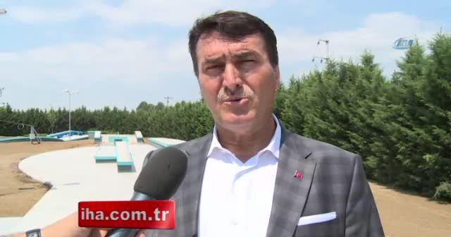 Türkiye'nin ilk olimpik kaykay pisti Bursa'da