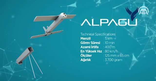 'Kamikaze drone' un daha büyüğü geliyor