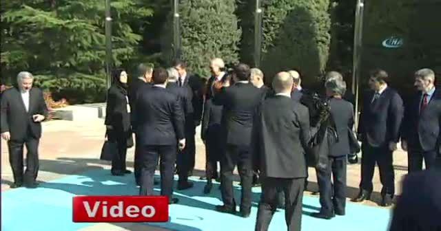 Başbakan Yıldırım, Cihangiri'yi resmi törenle karşıladı
