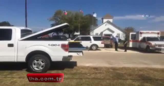 ABD'de kiliseye silahlı saldırı: Ölü ve yaralılar var
