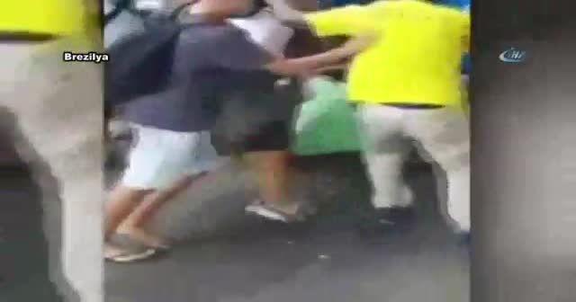 Brezilya'da bir kişiyi rehin alan hırsıza linç girişimi