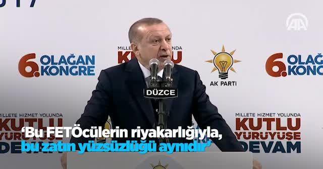 Erdoğan: 15 Temmuz gecesi Bay Kemal'in takımı ortalıkta yoktu