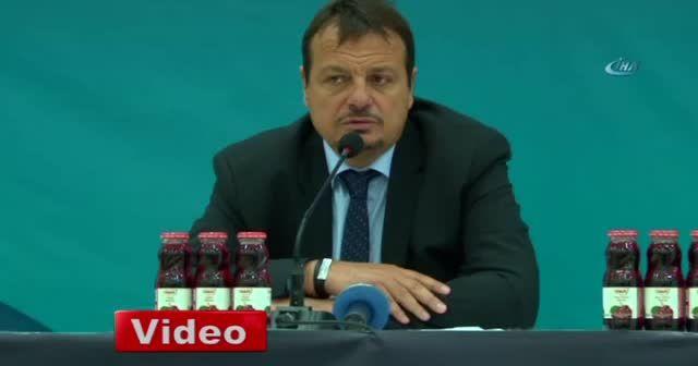 Ergin Ataman: 'Gerekli önlemleri alacağız'
