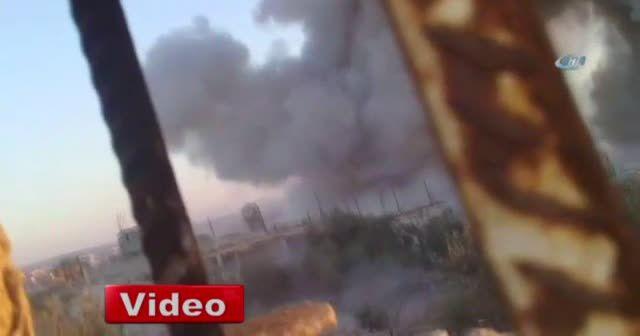 Hama'da muhalifler rejime ait savaş uçağı düşürdü