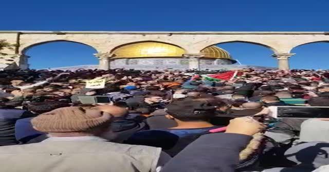 Kudüs'te protestolar!