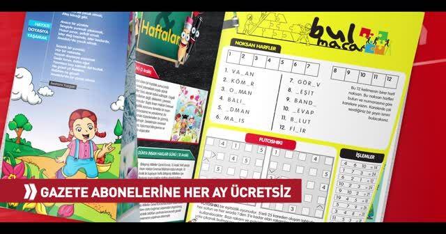 Türkiye Çocuk dergisi ve çocuk sayfaları Türkiye gazetesinde