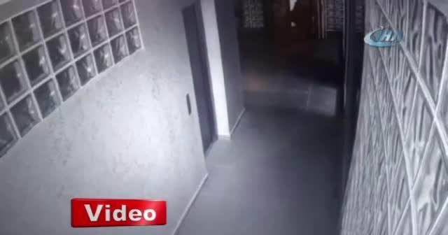 Düğün salonu hırsızları kamerada