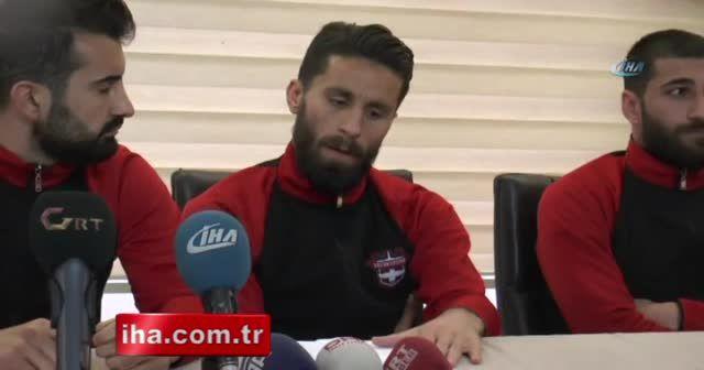 Gaziantepsporlu futbolcular yeniden maçlara çıkacak