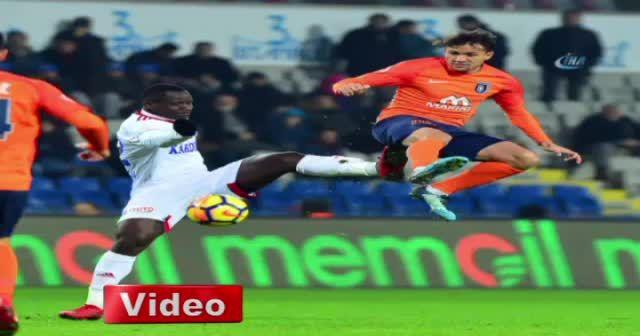 Başakşehir 5-0 Karabükspor