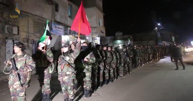 ÖSO, Afrin'e doğru yola böyle çıktı