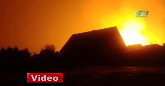 Polonya'da doğalgaz boru hattında patlama