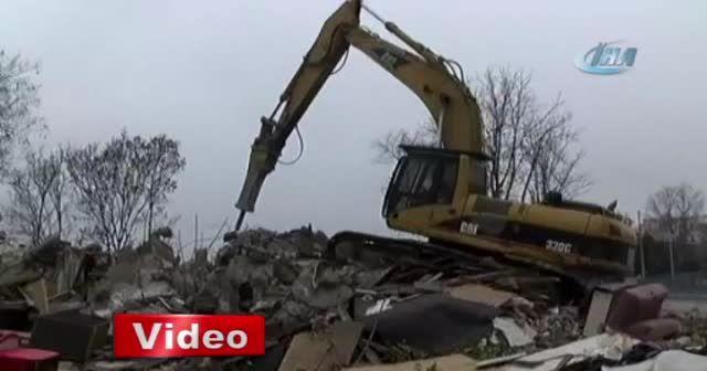 Maçka Parkı'ndaki bazı kafeteryalar yıkıldı