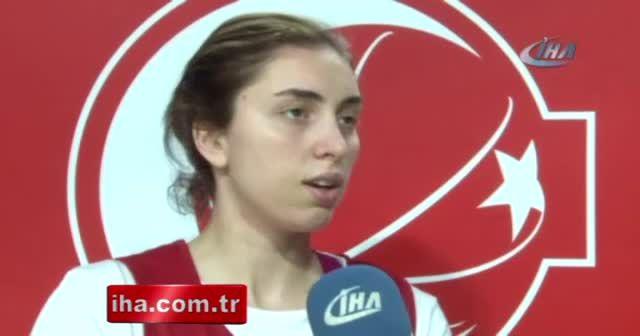 Ayşe Cora: 'Belarus karşısında kazanmak istiyoruz'