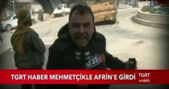 TGRT Haber Mehmetçikle Afrin'e işte böyle girdi